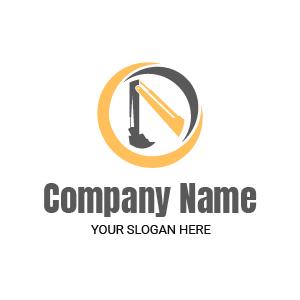 Entreprise de BTP ? Voici un exemple de logo design inspiration pour travaux pro btp gratuit.