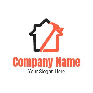 Société de construction ? Voici un exemple de logo design travaux pro BTP construction gratuit.