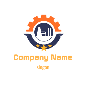 Logo de empresa industrial: diseño de logos de empresas industriales, fábricas, mecánica, técnicos.