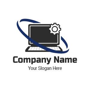 Generador de logo online: diseño de logo de ingeniería en gestión empresarial.