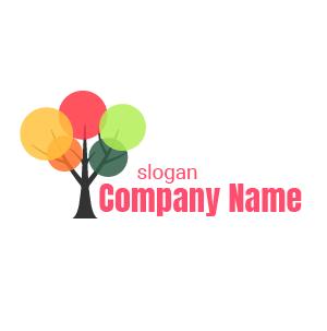 Logo environnement : exemple de logo stylé sous forme de cercles qui se superposent.