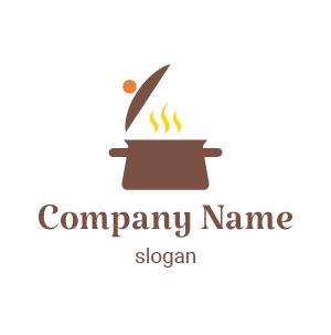 Png restaurant logo: diseños de logos de comida casera. He aquí una idea de logo moderno y creativo.