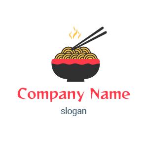 Chinese restaurant logo: He aquí diseños de logos de comida china.