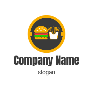 ¿Como hacer un buen logo personalizado? logos de comida chatarra.