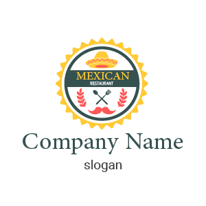 Logo de comida mexicana: descubre diferentes modelos de diseños de logos de restaurantes mexicanos.