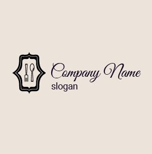 Como hacer un logo: diseños y plantilla de logos de restaurantes vintage.