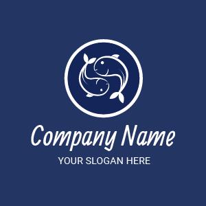 Diseños de logos: logos para restaurantes de mariscos y pescados. Seafood restaurant logo ideas.
