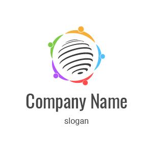 He aquí un ejemplo de diseño de logo para agencia de marketing.