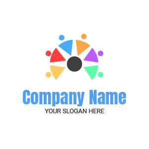 Agencia de com: crea tu logo para agencia de comunicación y publicidad.
