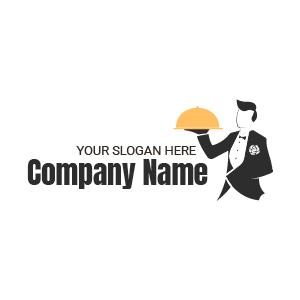 Logo design mariage : créer un logo serveur stylé pour votre entreprise de serveurs indépendants.