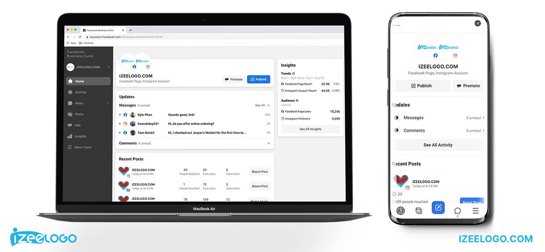 L'application Facebook Business Suite est lancée en tant qu'outil de gestion de pages Pros.