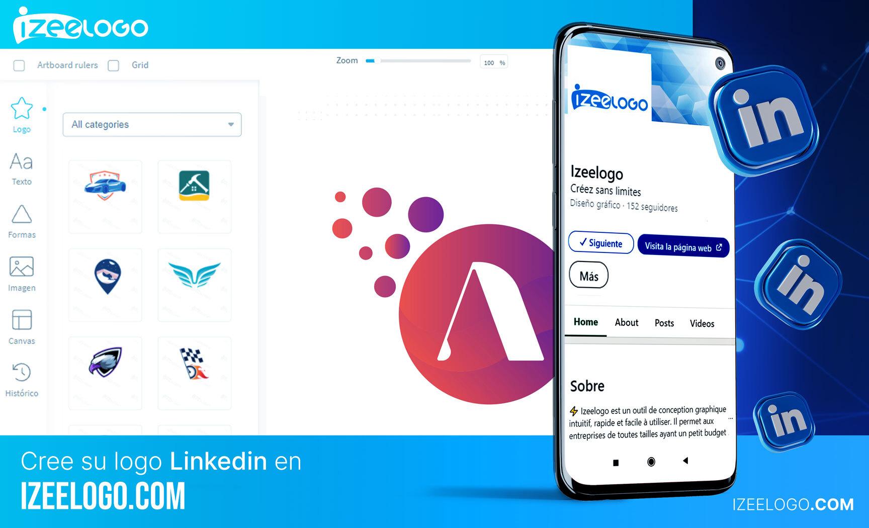 Izeelogo, su generador de logos online. Crea tu propio logo