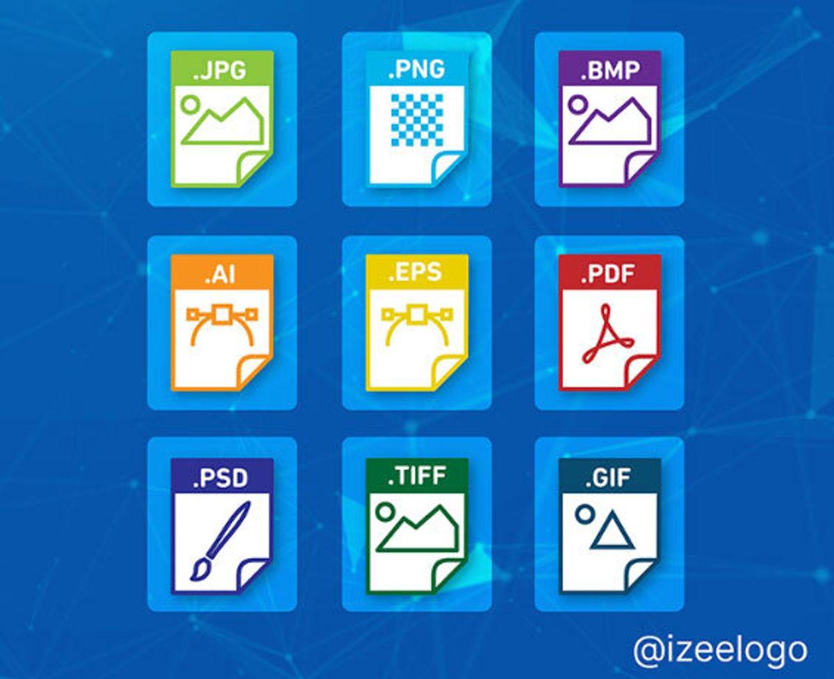 Recevez les fichiers sources de votre logo pour tous vos besoins web et Print.
