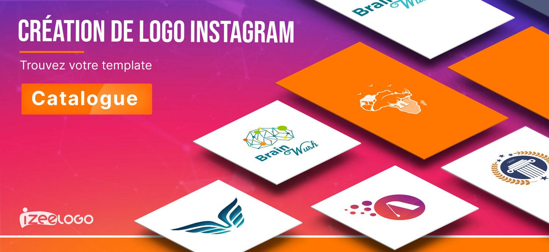 Laissez-vous inspirer par nos templates de logo Instagram.
