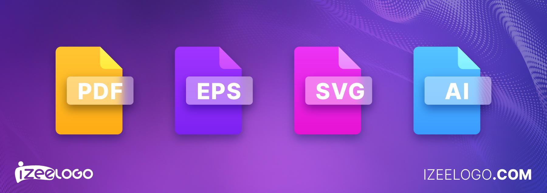 Voici les principaux formats destinés pour une image vectorielle : format AI, PDF, SVG et EPS.