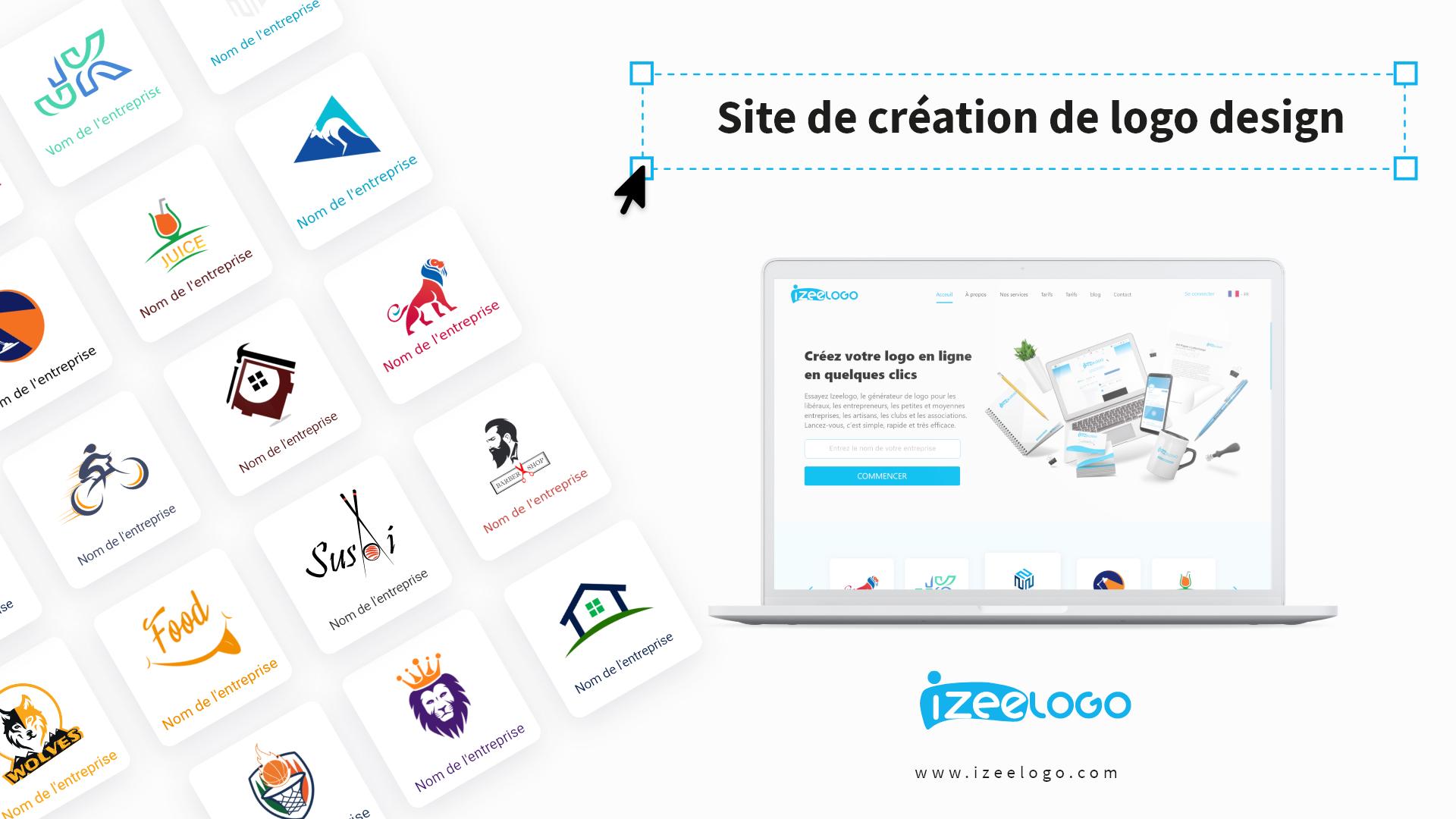 Utilisez Izeelogo pour créer un logo moderne personnalisé. C'est simple, facile et rapide.