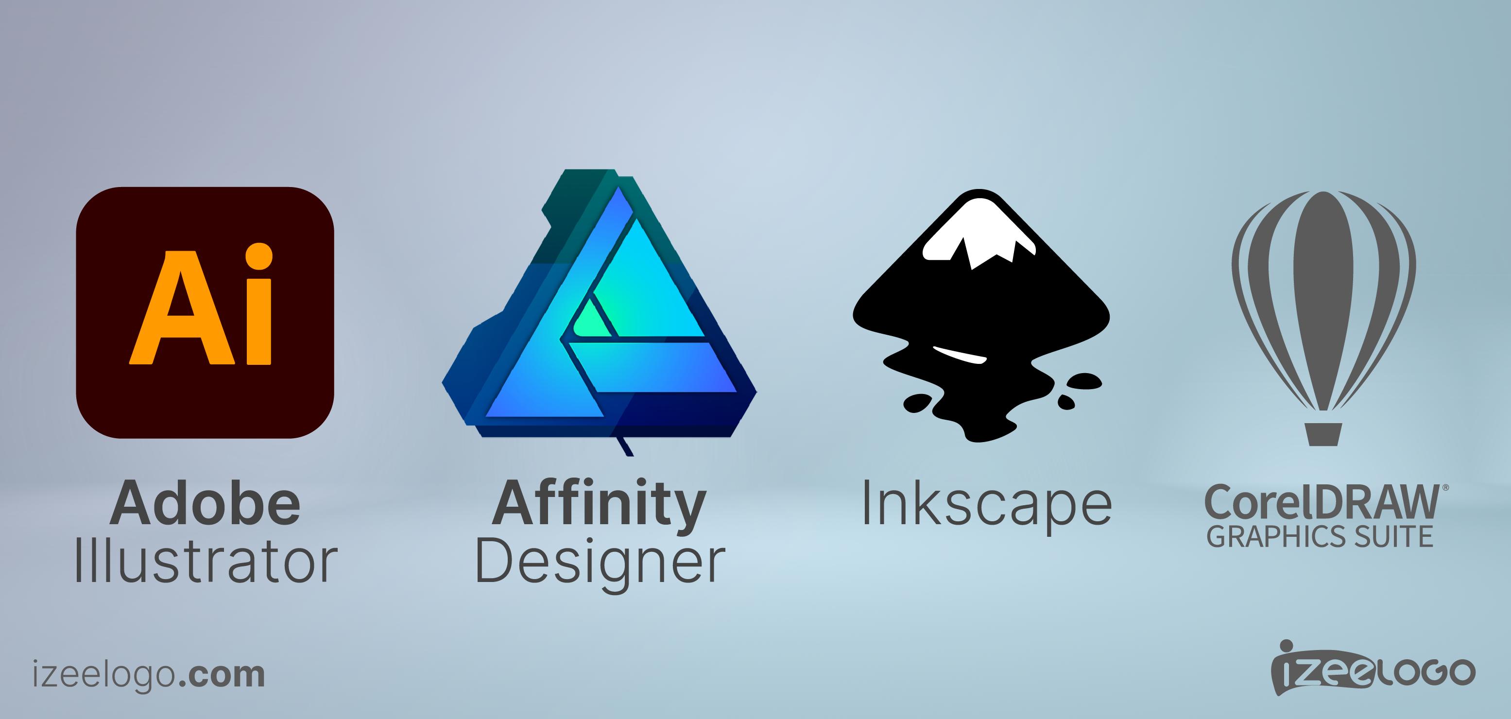 Voici les principaux logiciels d'édition graphiques adaptés pour les illustrations vectorielles.