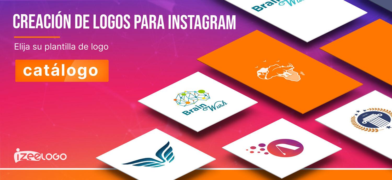 Inspírese de nuestras plantillas de logo online para su perfil instagram